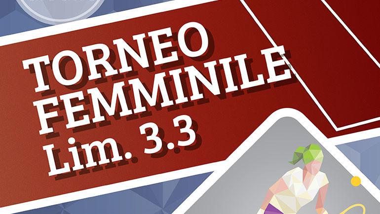 Torneo Femminile Lim 3.3